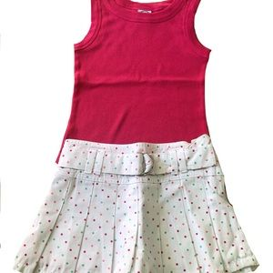 NWT! Girls Summer Top and Skirt Outfit